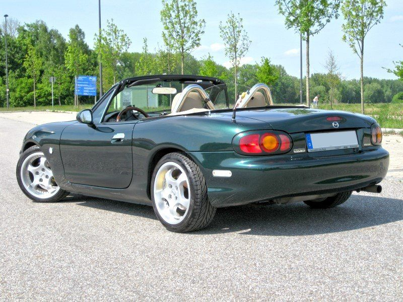 emerald mica nb 2000 emerald green mx 5 miracle edition mazda miata mx 5 picture gallery. Black Bedroom Furniture Sets. Home Design Ideas